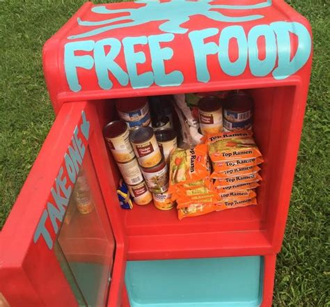 Neighborhood Food Pantries by Free Pantries A Big Difference For Those In Need