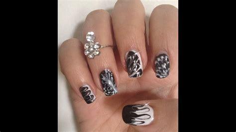 facile it banche nail noir et blanc facile sans mat 233 riel 5