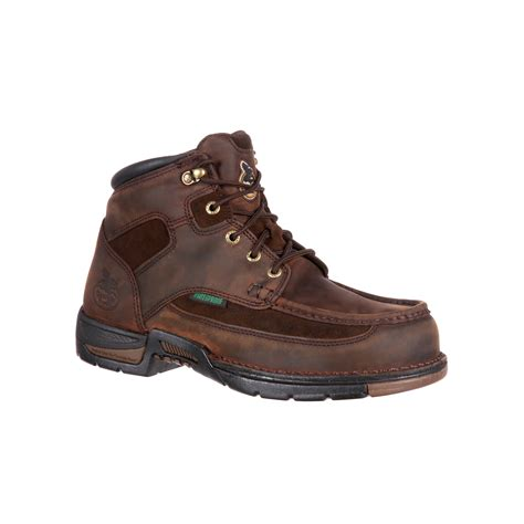 comfortable steel toe work boots georgia mens athens steel toe waterproof comfortable work
