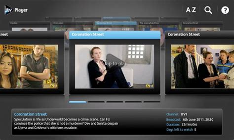 itv player for android itv player streams onto android the register