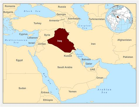 middle east highlighted map background iraqi refugee health profiles immigrant