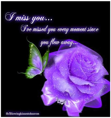 color purple quotes heaven last always i miss you pictures photos and images for