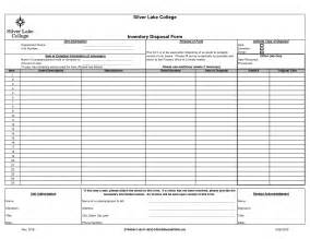 asset sheet template 10 best images of asset disposal form template fixed