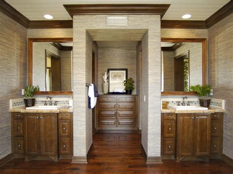 split bathroom design rooms viewer hgtv