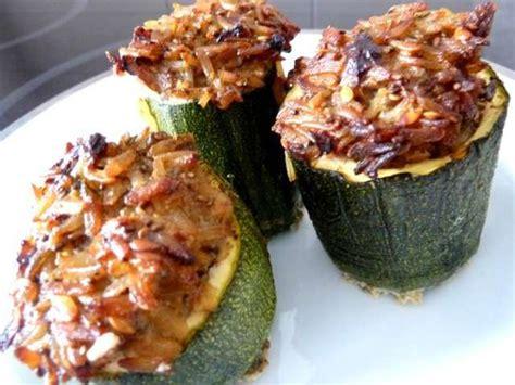 cuisine courgette recettes de courgettes farcies et riz