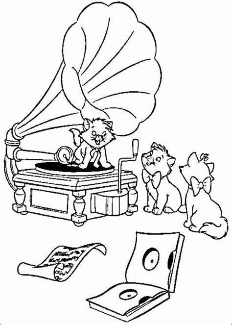 aristocats coloring pages aristocats coloring pages coloringpagesabc com