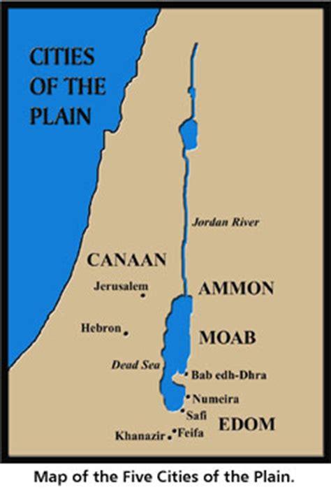 sodom and gomorrah map biblical archeology sodom and gomorrah