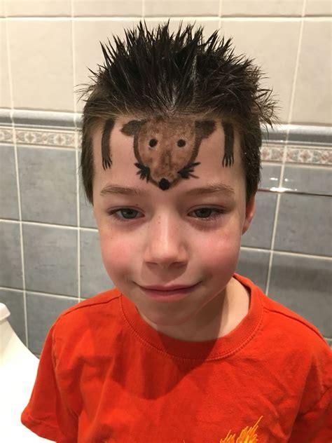 crazy hair ideas for 5 year olds boys crazy hair day for boys hedgehog spikes boys hair