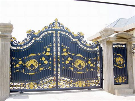 iron gate designs for house iron gates design gallery 10 images kerala home design and floor plans
