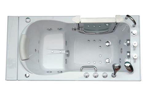 ellas deluxe walk  tub ellas bubbles aging safely baths