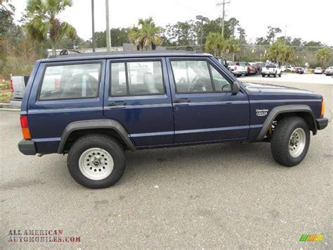 blue grey jeep 1995 jeep cherokee sport in dark montego blue pearl photo