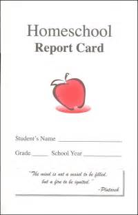 Homeschool Id Card Template by Homeschool Report Card Template Search Engine At