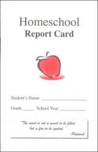 Homeschool report card template free best business template