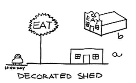 Robert Venturi Duck Decorated Shed by Robert Venturi Decorated Shed Sketch 171 Dis Magazine