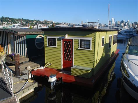 boat house for rent seattle seattle short term tiny houseboat rentals for testing out a life at sea curbed seattle