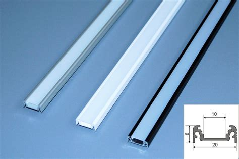 Lu Led 1 Meter 2 m alu profil aluminium schiene f 252 r led s alu led profil f 252 r led leisten ebay