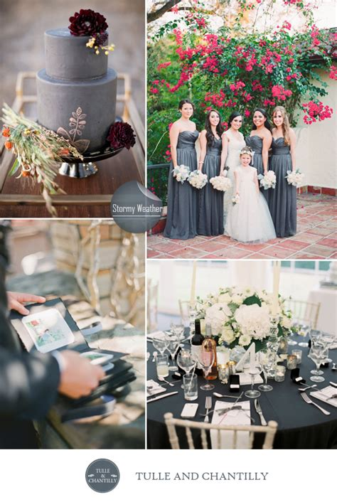 March Wedding Ideas by Top 10 Pantone Inspired Fall Wedding Colors 2015 Tulle