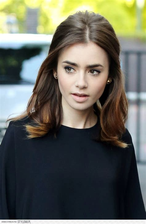part down the middle hair style pretty ways to style a middle part glam radar