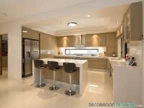 modern kitchen idea ideas de cocinas abiertas