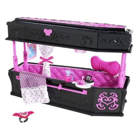 monster high bed set monster high draculaura jewelry box coffin and frankie stein mirror bed set 609728165819