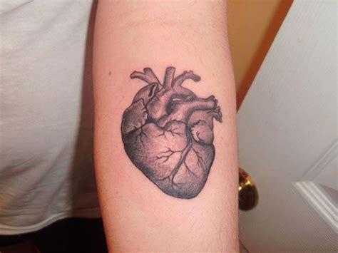 realistic heart tattoo realistic pictures to pin on
