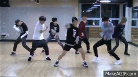 tutorial dance i need u bts bts i need u mirrored dance practice on make a gif