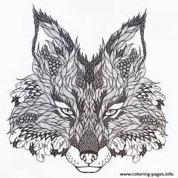 coloring pages for adults hd adults difficult animals wolf hd color coloring pages