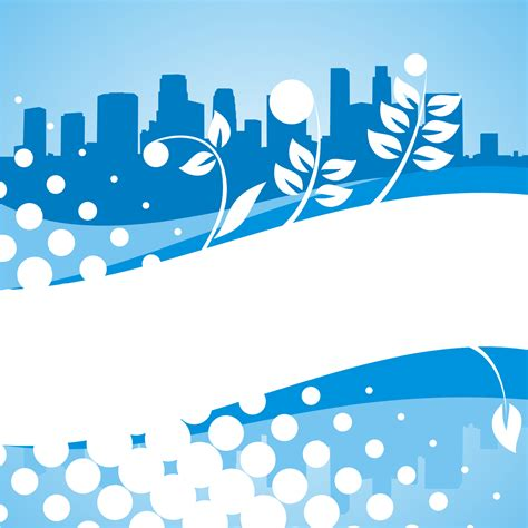 wallpaper biru vector vector for free use blue city background