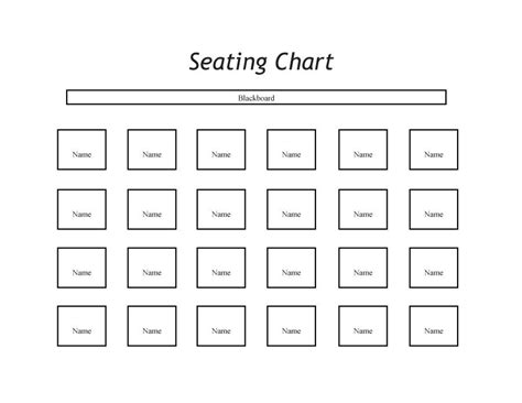 classroom charts printable classroom seating chart download as