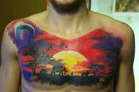 african tribal chest tattoos 50 tribal designs for