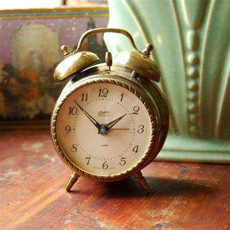 vintage brass alarm clock linden black forest flickr photo