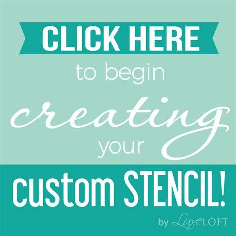custom stencil templates custom stencil custom stencils stencils for signs by luxeloft