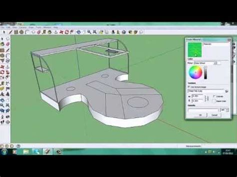 event design google sketchup google sketchup stage design x4 speed youtube