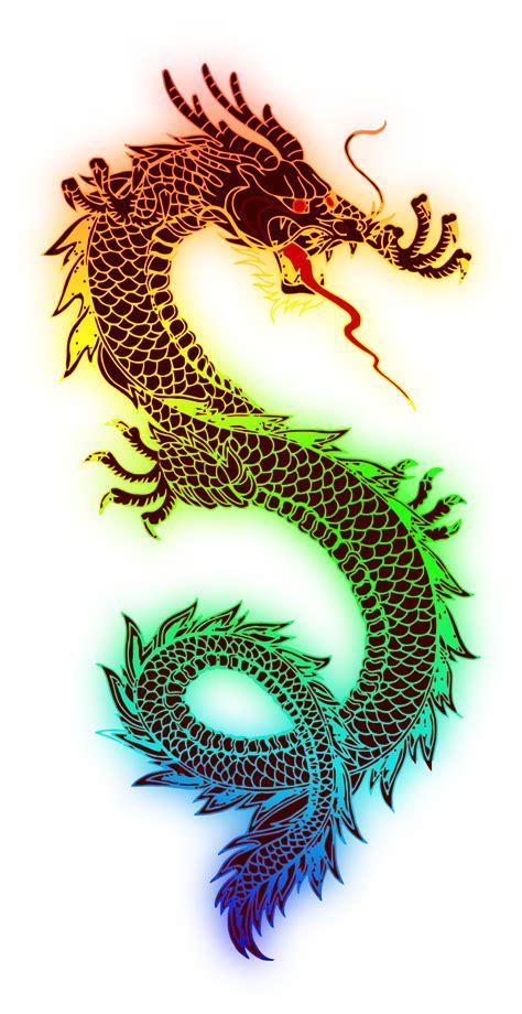Tattoo Berwarna Png | clipart rainbow dragon