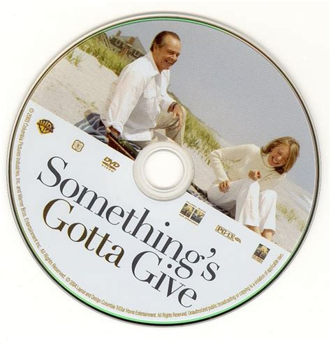something s covers box sk somethings gotta give high quality dvd