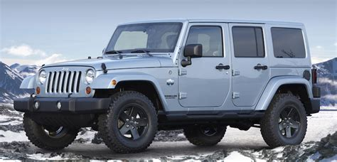 Jeep Winter Special Winter Editions Of Jeep Wranglers