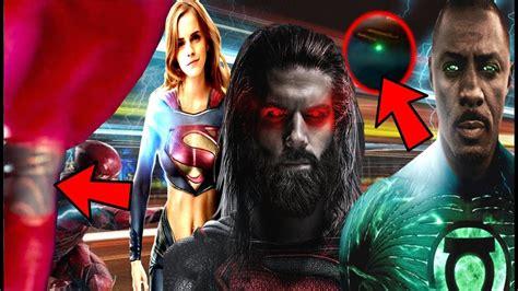 justice league film plot supergirl teased green lantern ring teased jl plot