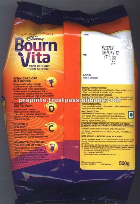 meaning of bournvita bournvita nutrition facts nutrition ftempo