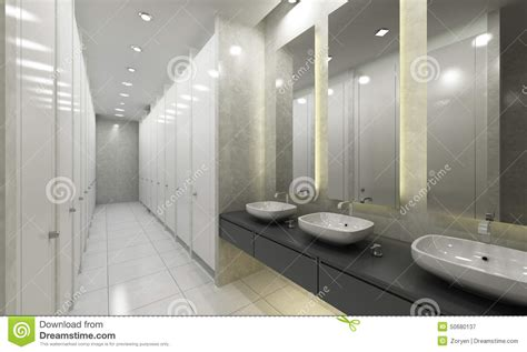 modern washroom modern washroom and toilets stock image image of