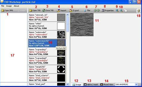 tutorial html workshop gta modding com texture editing