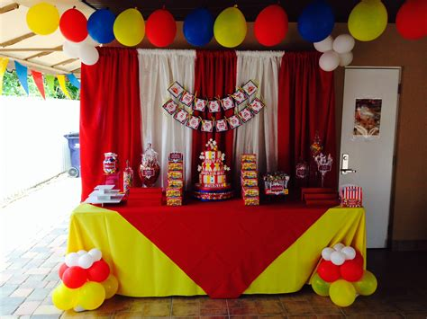 circus theme decoration ideas circus theme decoration cake table ideas for