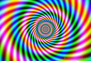 color spiral color spiral illusion