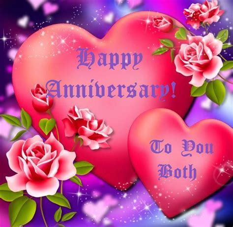 Happy Anniversary To You Both Pictures, Photos, and Images