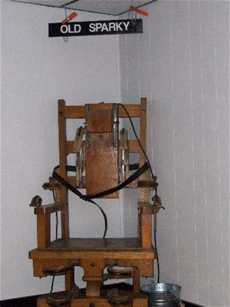 electric chair known as quot sparky quot picture of west