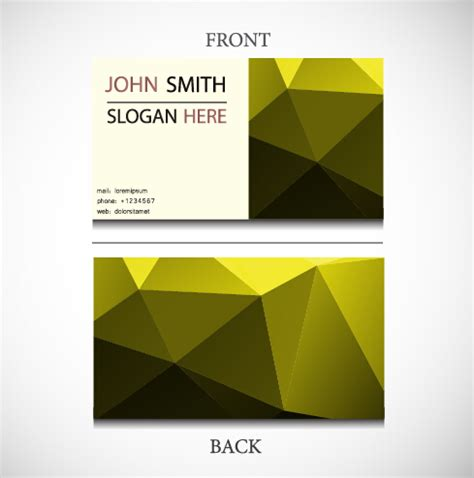 pattern design business exquisite pattern business cards vector design 03 vector