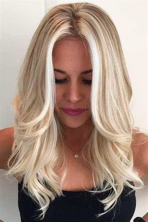 hairstyles blonde shades 50 platinum blonde hair shades and highlights for 2018