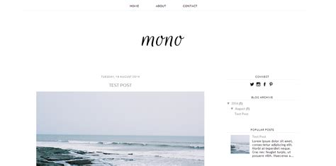Blogger Free | a free blogger template sweet electric bloglovin