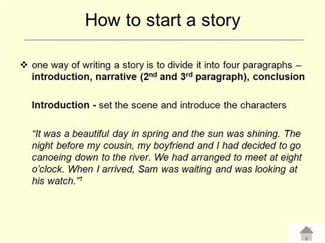 How To Begin A Narrative Essay by How To Write Narrative Essay Introduction