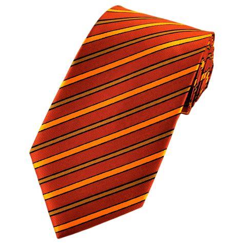 orange patterned ties shades of orange black striped patterned tie from ties