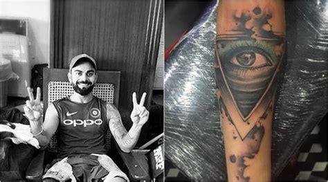 virat kohli tattoo everyone s talking about virat kohli s new so